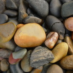 ROCKS ON BEACH