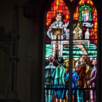 stain glass windows church